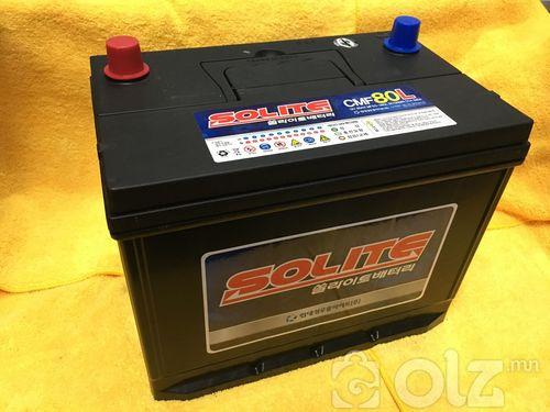Solite 80Ah Аккумулятор (L)