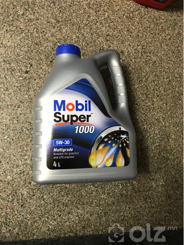motoriin tos mobil 4 liter