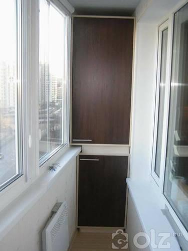 Болкон дээрх шкаф
