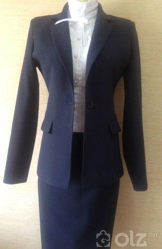 пиджак юбкатай хослол оффис загвартай