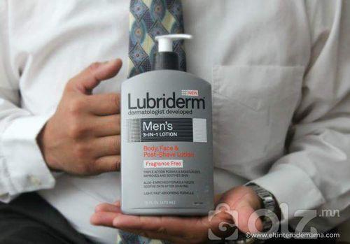 Lubriderm 1 in 3 men