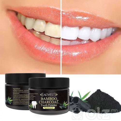 Хулсны нүүрстэй Шүд цайруулдаг нүүрс.