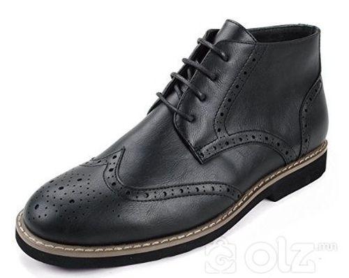 ALPINE SWISS Genuine Leather эрэгтэй гутал