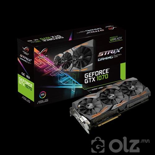 ASUS ROG Strix GeForce®GTX 1070-08G-Gaming