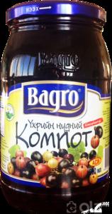 [15402] Bagro Үхрийн нүд компот 936гр