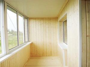 Байшин болон балконы доторлогоо