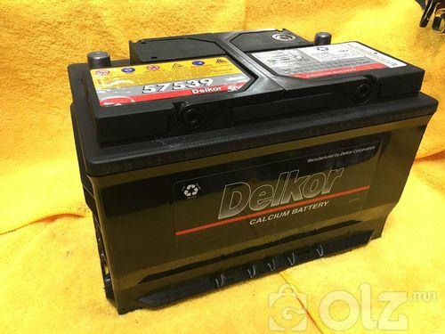 Delkor 75Ah Аккумулятор (L далд шонтой)