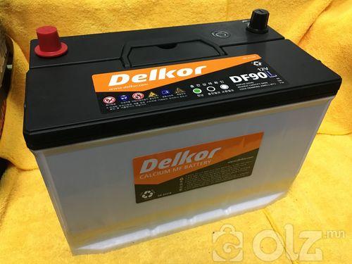 Delkor 90Ah Аккумулятор (L)
