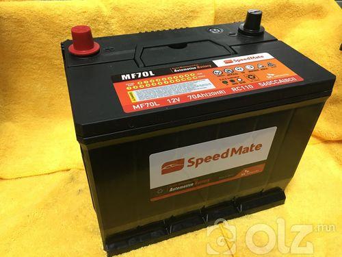 SpeedMate 70Ah Аккумулятор (L)