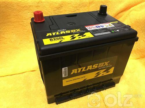 AtlasBX 60Ah Аккумулятор (L)