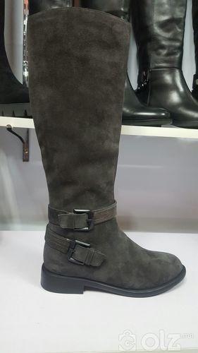 Элгэн гутал хар саарал евро мех