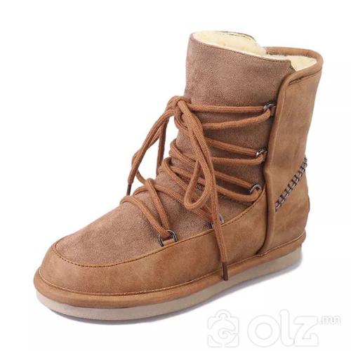 Хиймэл үстэй өвлийн гутал