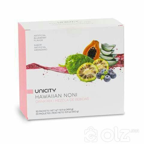 Unicity HawaiianNoni-Хүүхэдийн дархлаа дэмжиж цэр ховхлоно.