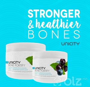 Unicity Bone Fortify-Яс ургалтыг зогсоох хамгийн өндөр тунтай калце.