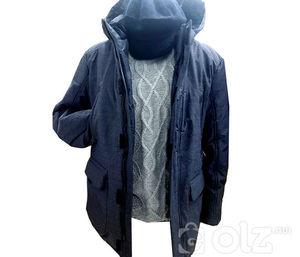 Саарал куртка турк