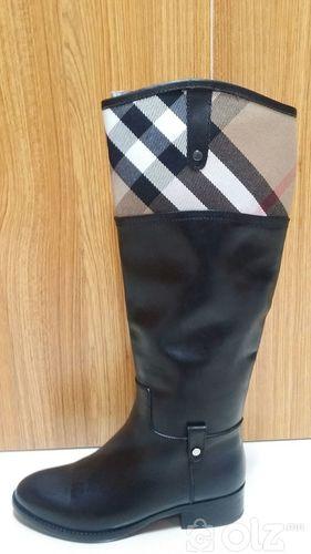 Өвлийн цэвэр арьсан гутал