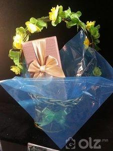 Бэлэгний сагс, бэлэгний хайрцаг