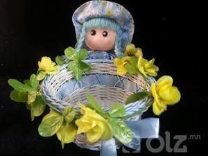 Бэлэг дурсгал, цэцэг, чихэр жимсний сагс