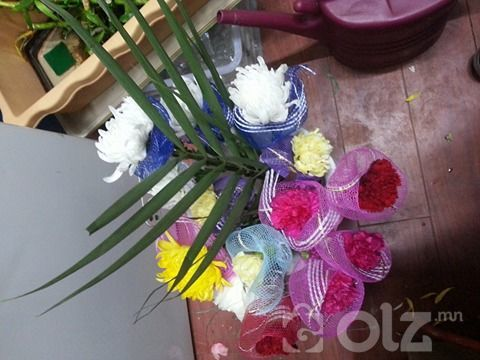 Амьд цэцэг