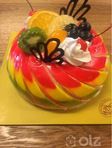 Солонго торт