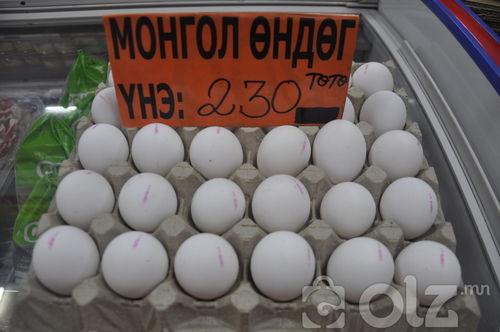 Бүх төрлийн өндөг бөөний үнээр зарж байна