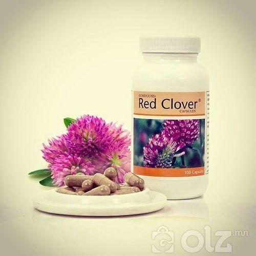 Red clover-Эсийн тунгалагын тогтолцоо цэвэрлэнэ.