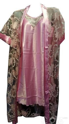 Гадна нөмрөгтэй хос унтлагын хувцас