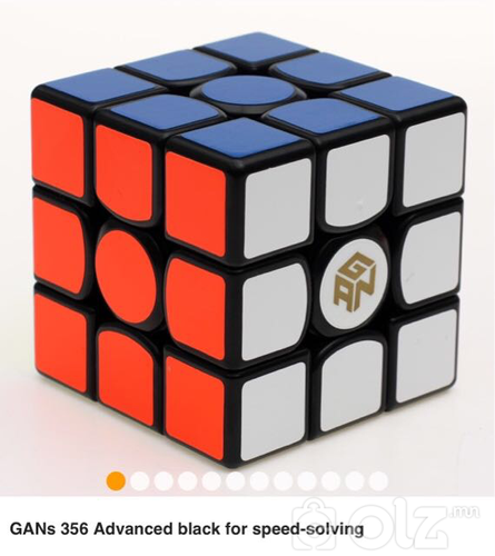 3x3x3 GAN 356s speed cube black