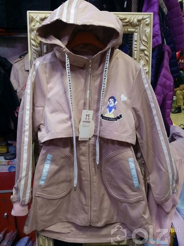 Эмэгтэй урт куртик