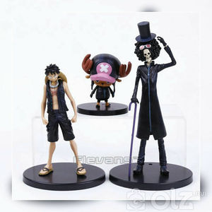 Luffy, Chopper, Brook