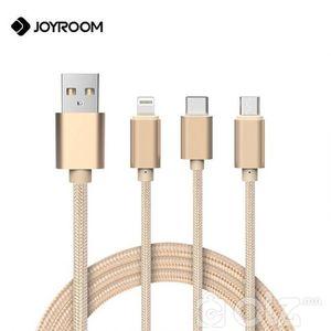 iPhone, android, type-C 3 хос толгойтой кабель 1,28м урт ҮНЭ 25,000₮