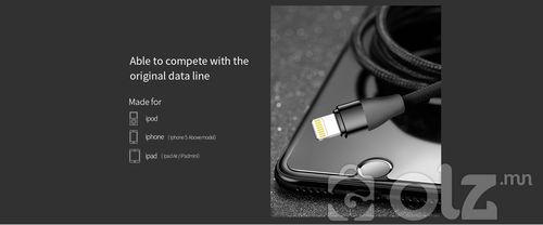 XU цувралын нёлонон бүрээстэй хурдан цэнэглэгч дата кабель S-M317