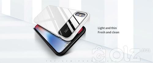 iPhone X цутгаж хийсэн үзэмж төгс гэр