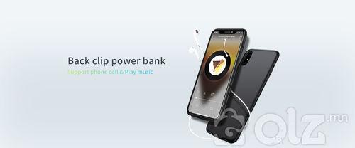 iPhone X утасны повер банктай гэр /power bank case/ D-M186