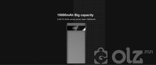 Nick загварын зөөврийн цэнэглэгч /Power bank/ D-M173