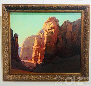 НЭР: Өмнөговь Аймаг 'ХЭРМЭН ЦАВ' #Амьд байгаль мэт D Арт галерейд Зураач: Ч.Болор Он: 2017 Хэмжээ: 90*90 Байгаль дэлхийгээ хайрлая
