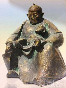 """Монголын урчуудын эвлэлийн шагналт уран барималч Лувсандондог Гантөмөр """" Зүрхний наран"""" 2014 он Хүрэл"""