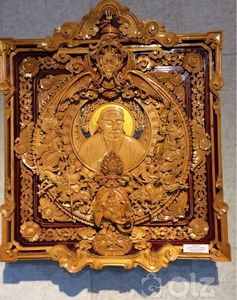 Чингис хаан «Модон сийлбэр ухмал наамал» Хэмжээ:78*90