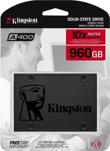 960G SSD Kingston SA400S37/960G