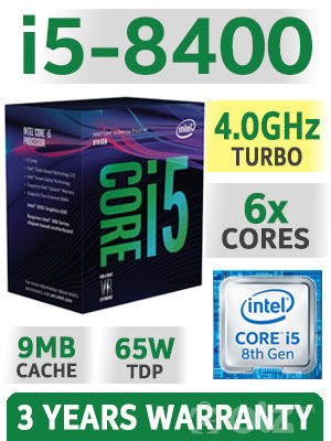 8th Gen Intel® Core™ i5-8400 Processor