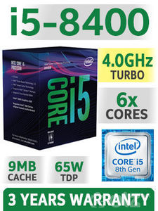 8th Gen Intel® Core™ i5-8400 Processor