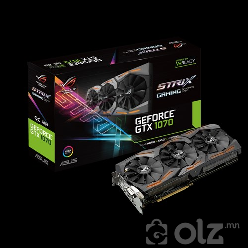 ASUS ROG Strix GeForce® GTX 1070-08G-Gaming