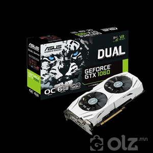 ASUS DUAL GeForce® GTX 1060-O6G