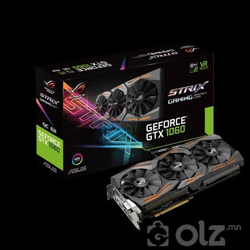 ASUS ROG Strix GeForce®GTX 1060-O6G-Gaming