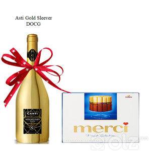 CANTI / ITALY - Asti Gold Sleever DOCG