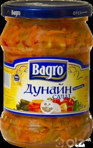 [15101] Bagro Дунайн салат 550гр