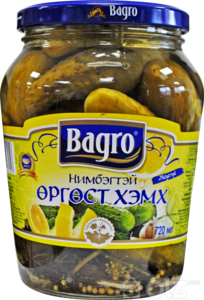 [15610] Bagro 1 Огурцы 0.7л