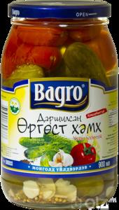 15611] Bagro 1 Огурцы 0.9л