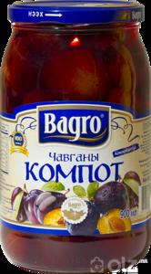 15602] Bagro 1 Компот 0.9л Чавга