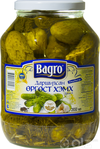 [15613] Bagro 1 Огурцы 2.65л